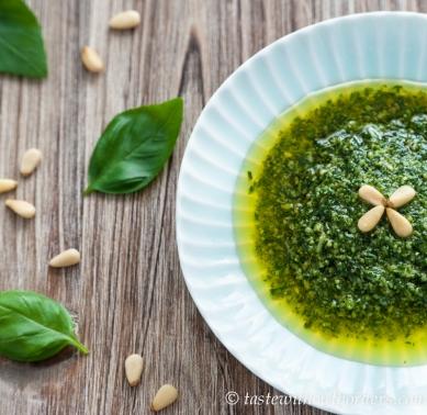 Hausgemachtes Pesto Verde