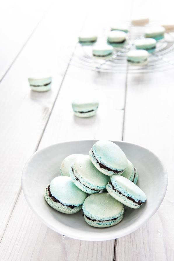 Schoko-Minze-Macarons (1 von 1)