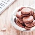Schoko-Sichuan Pfeffer-Macarons (1 von 1)