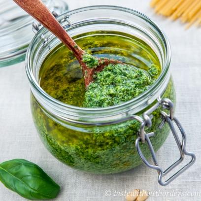 Hausgemachtes Pesto (1 von 1)