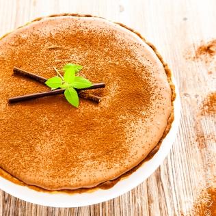Mousse au Chocolate Minz Tarte