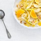Orangen-Fenchel mit Mohn-Kartoffel