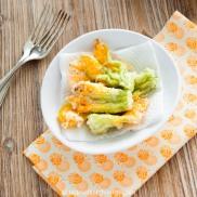 Pfifferlinge-Risotto mit Tempura Zucchiniblüten _3