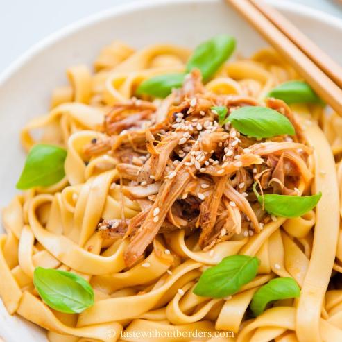 Scharfe Sichuan-Hühnchen-Nudel_2