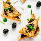 Tapenade-Tofu-Bruschetta