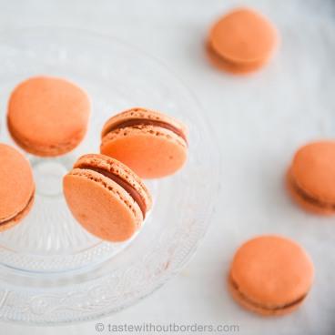 Thai Ice Tea Macaron