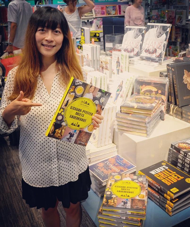 """Mein Koch- und Lifestyle-Buch """"Sichuanpfeffer meets Sauerkraut"""""""